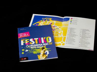 New identity including the new name of the festival Festiko and festival for kids Lunin festival - Festiko