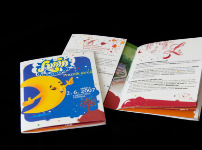 New identity including the new name of the festival Festiko and festival for kids Lunin festival
