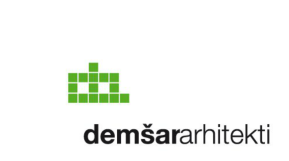Identity redesign of the Ljubljana architects Demšar arhitekti logo two lines