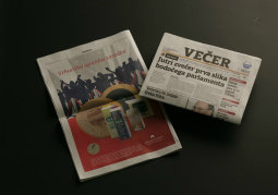 Dairy Ljubljanske mlekarne publishes its awards in the leading Slovenian newspapers - Vecer