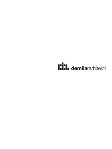 Demšar arhitekti - Vizuarna - Clients list