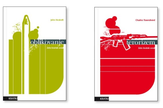 Identity book cover design guidelines A Very Short Introduction Kratka - front covers