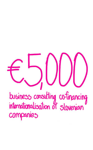 Co-financing the business consulting for internationalization of Slovenian companies Call